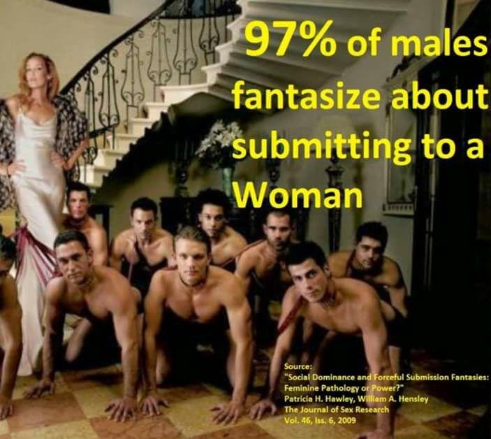 BDSM - 1 vrouw en veel slaven